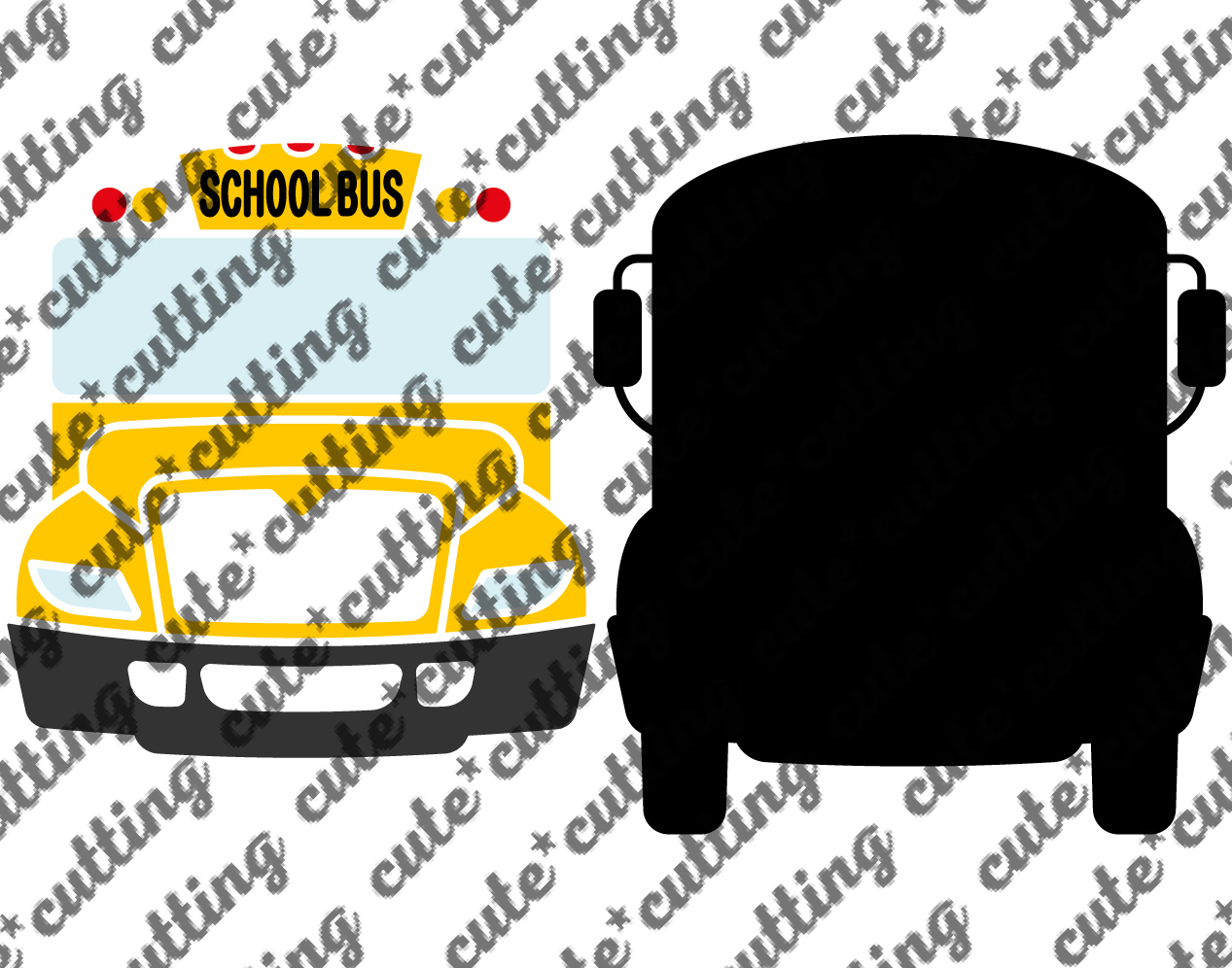 School bus svg, school bus driver svg, bus svg, dxf, png example image 2