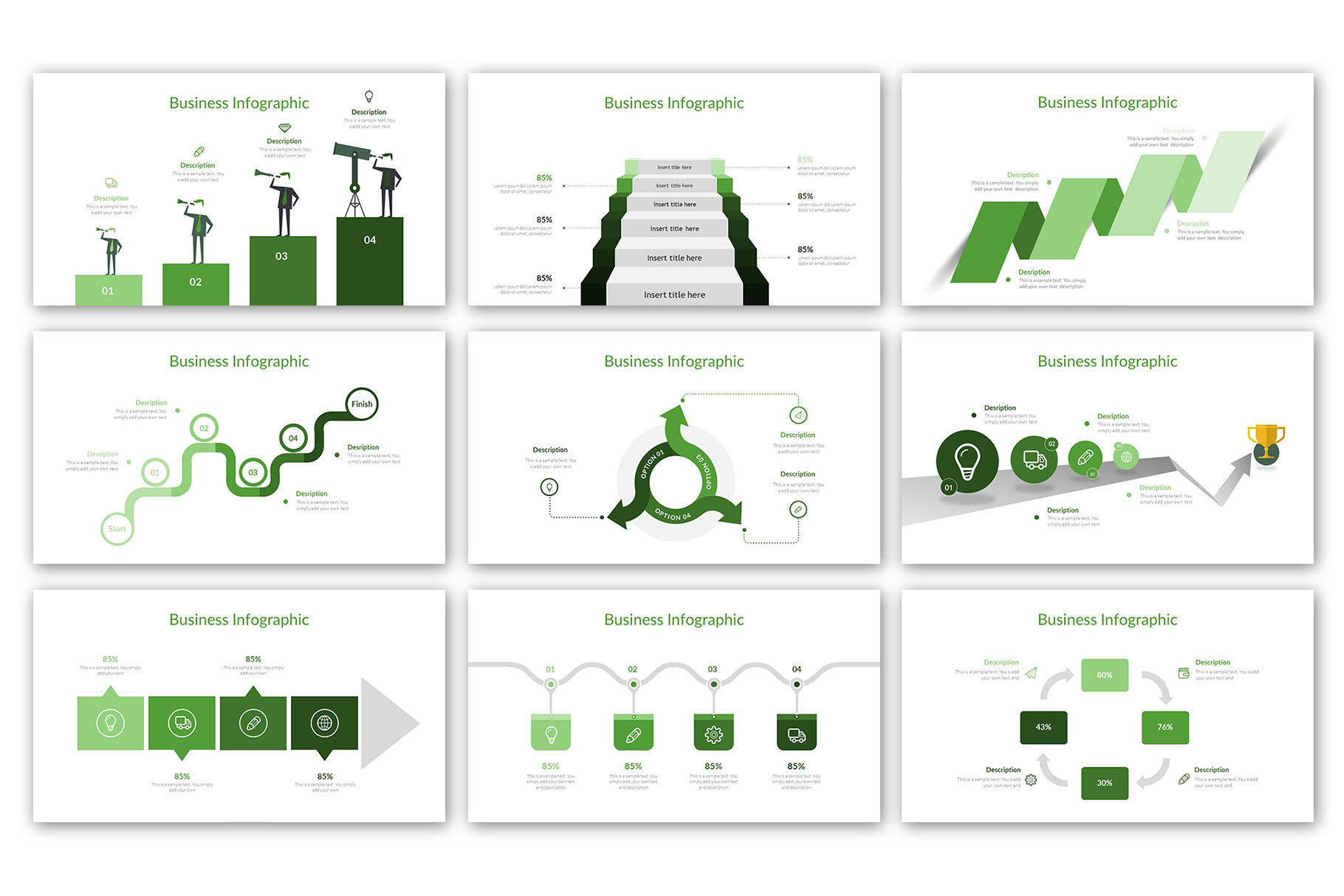 Modern Business Presentation Template example image 14