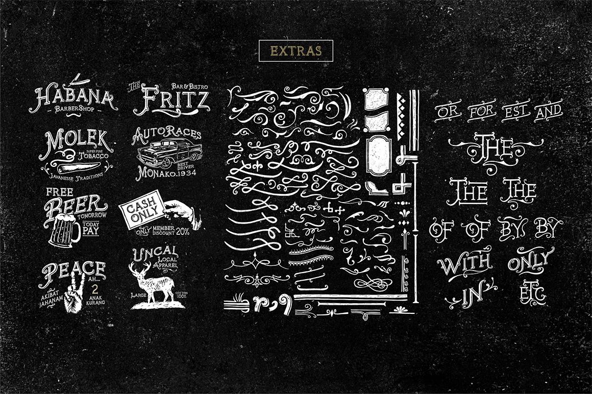 Furach Typeface + Bonus example image 2
