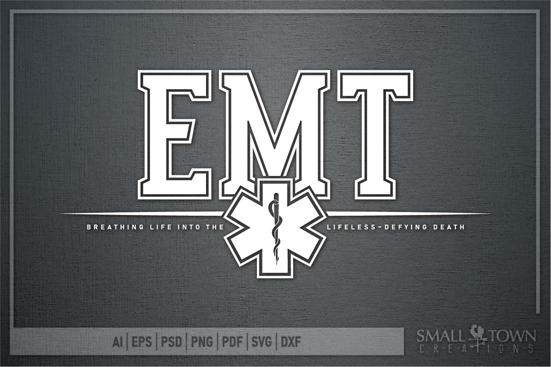EMT, Emergency Medcial Technician, Logo, PRINT, CUT & DESIGN example image 5