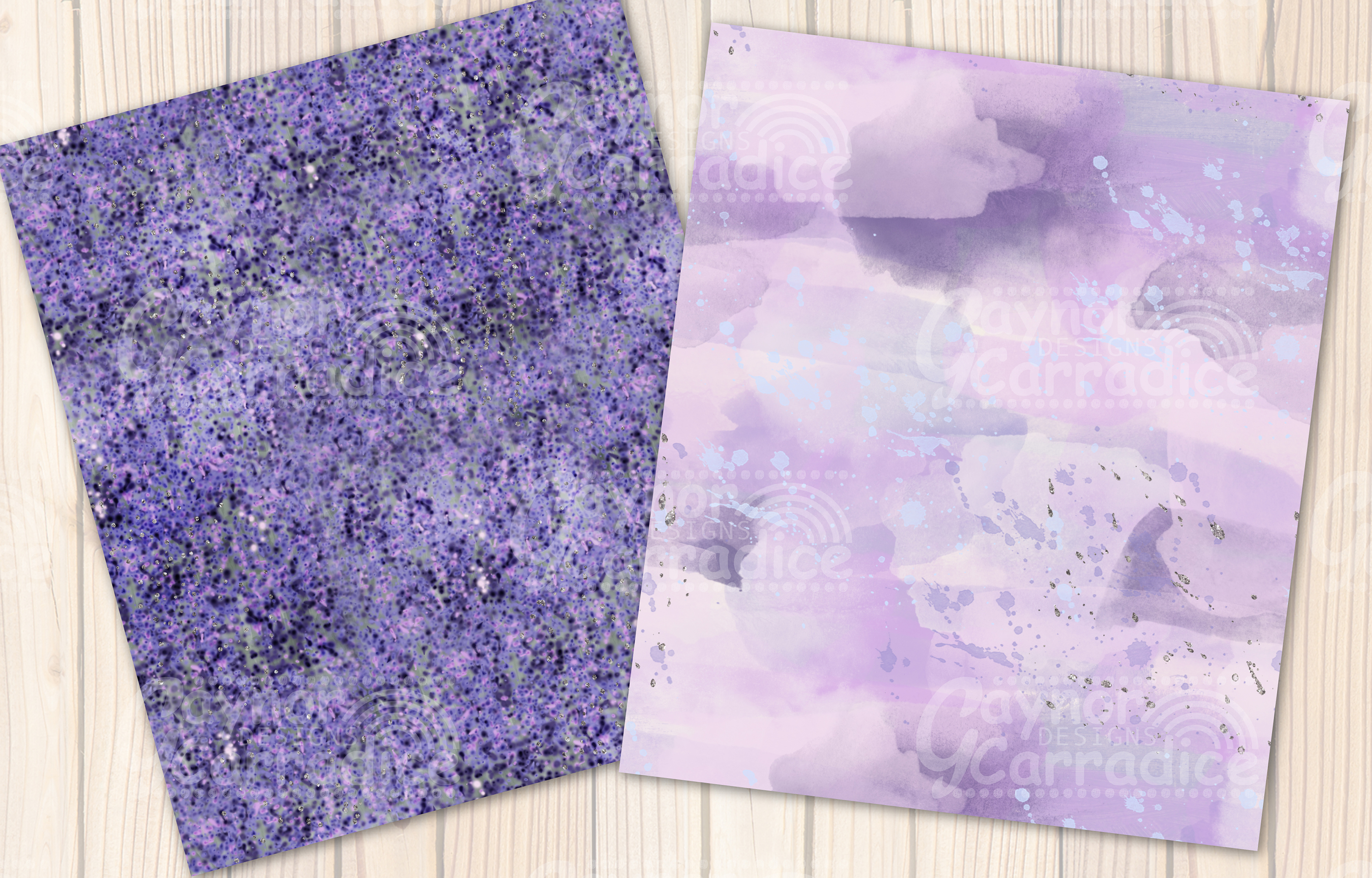 Provence - lavender Seamless Pattern collection example image 7