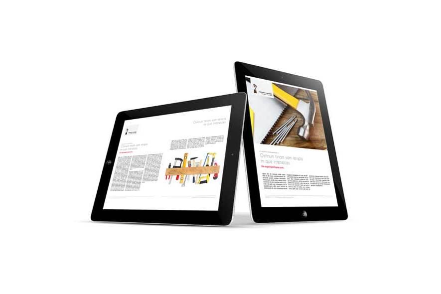 Corporate eMagazine Template example image 2