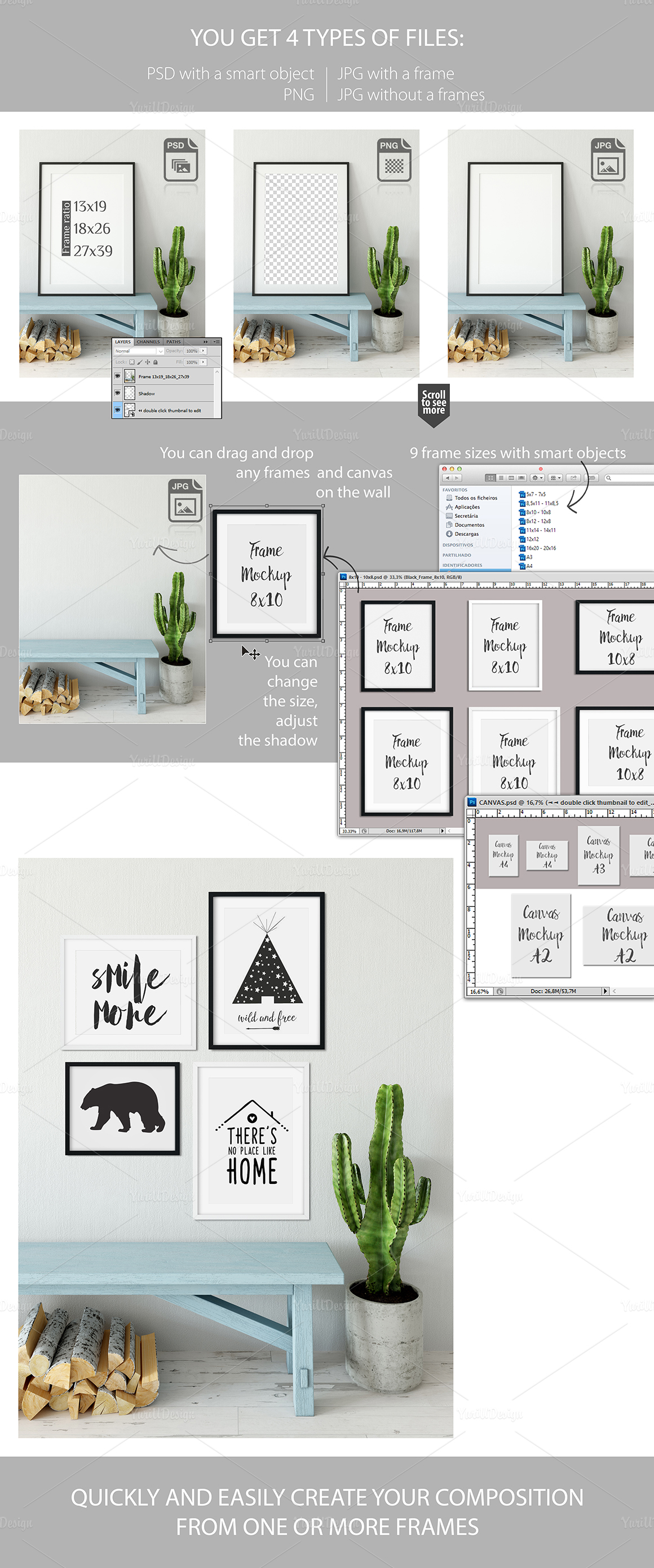 Frame Mockup Bundle Vol 3 example image 4