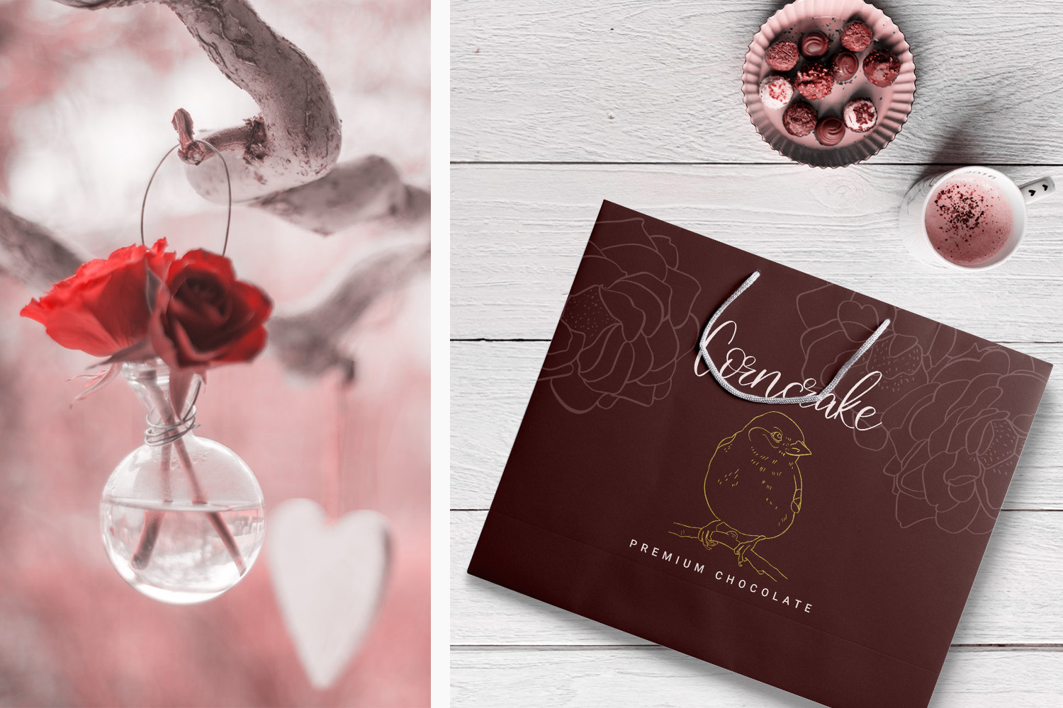 Birdy Roses | Script font and Swashes example image 3