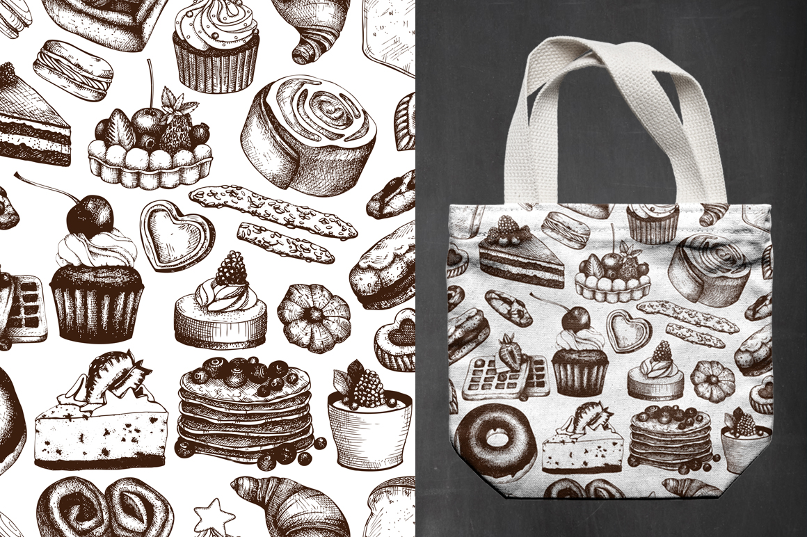 Bakery Menu Design example image 3