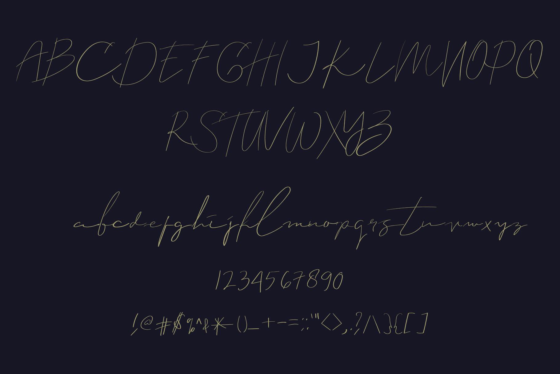 Callous Font example image 2