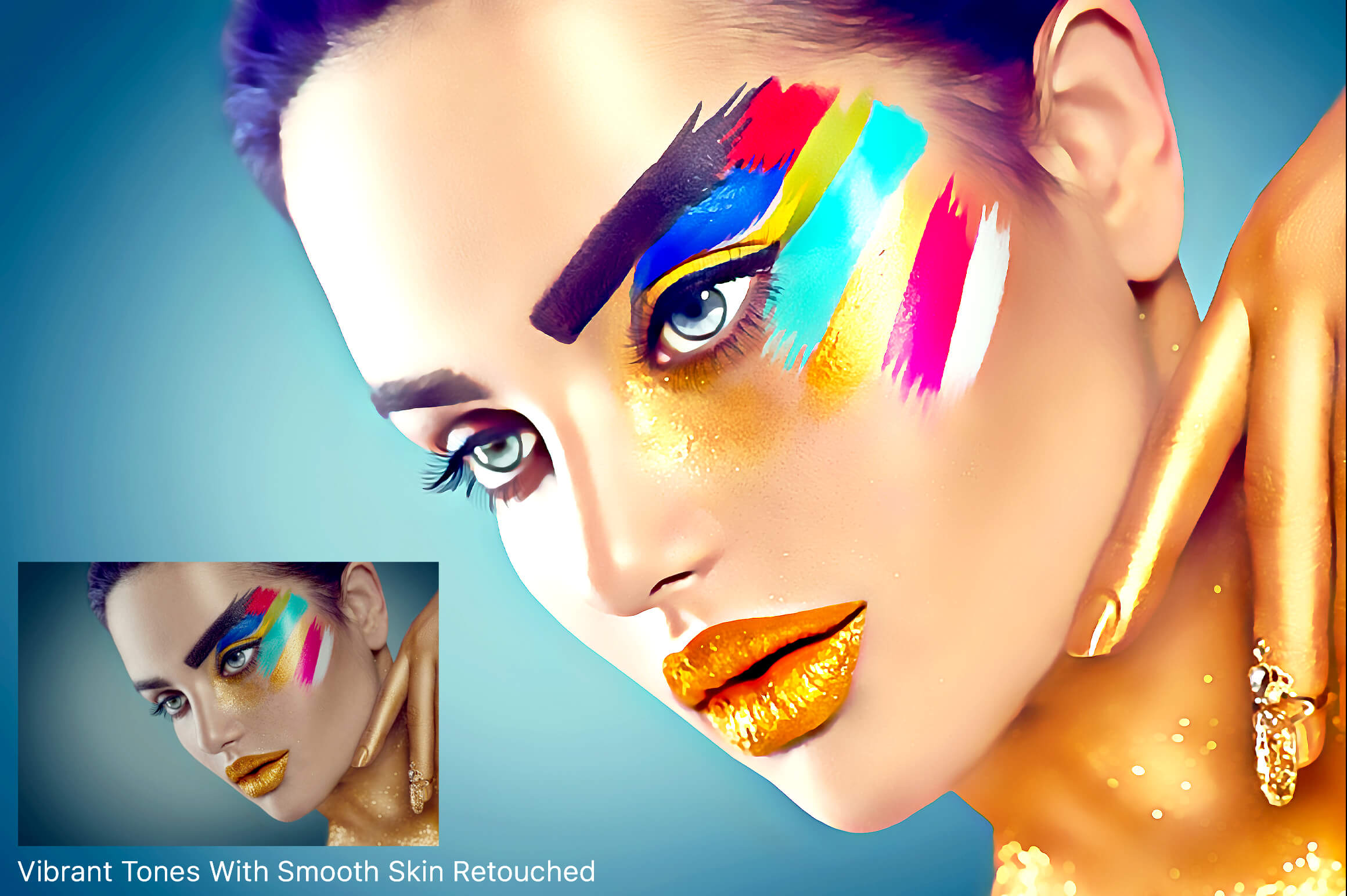 Artistic Painting Effect - Photoshop Action example image 3