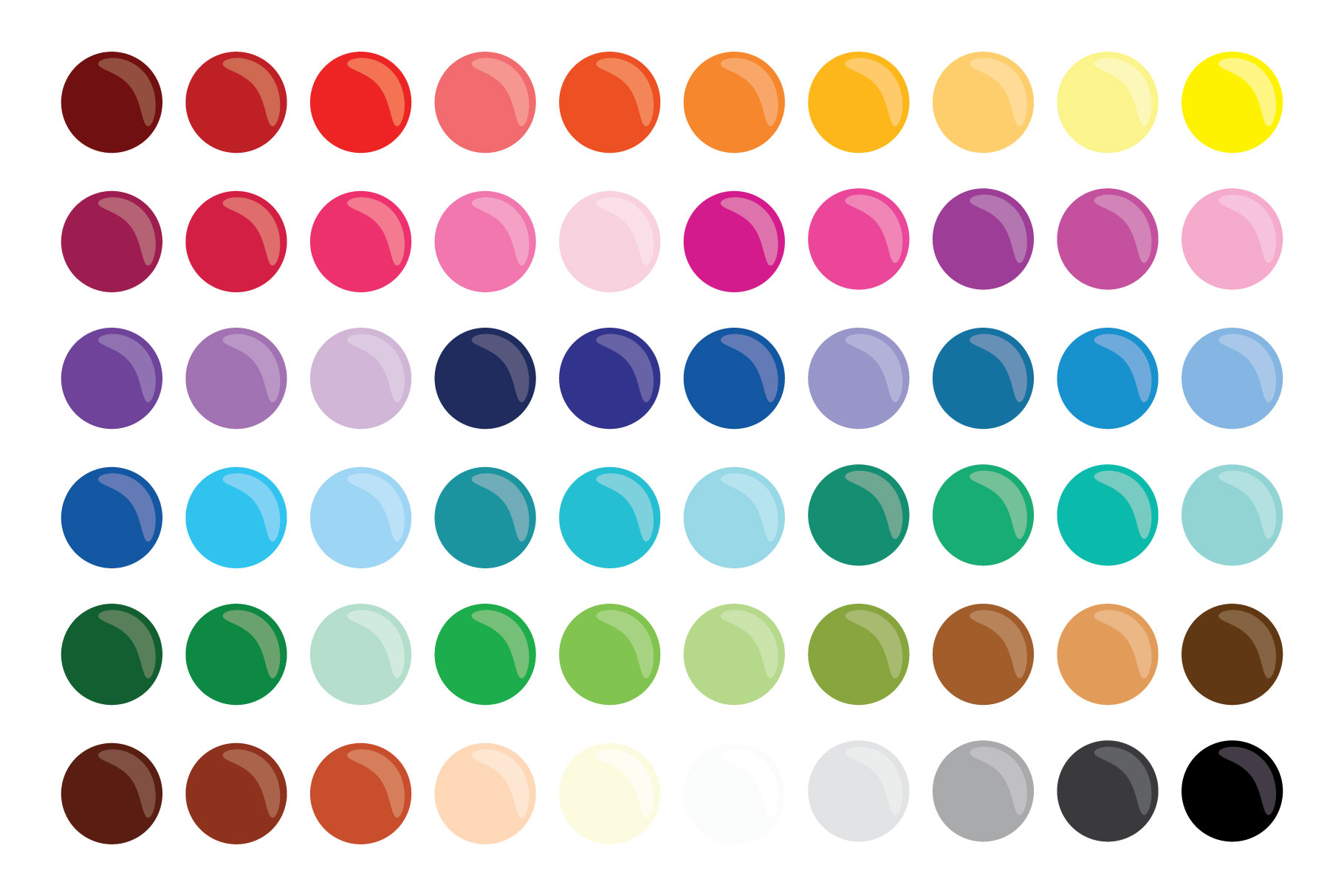Paint Brush & Palette Graphic Set example image 7