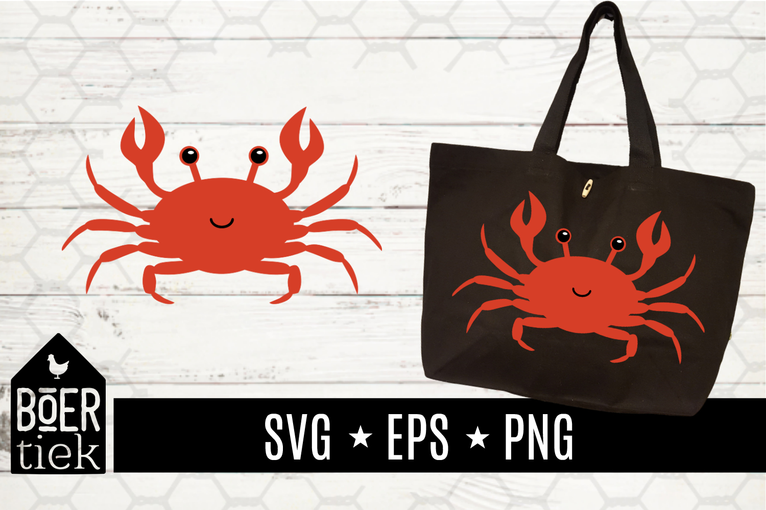 Crab, SVG cutting file example image 2