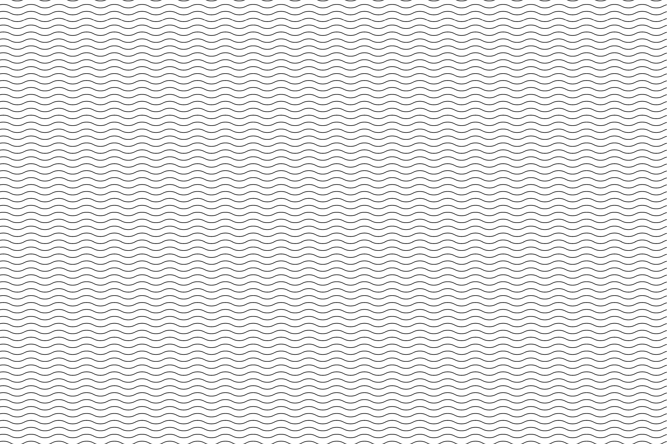 Wave&Zigzag seamless patterns. B&W. example image 5