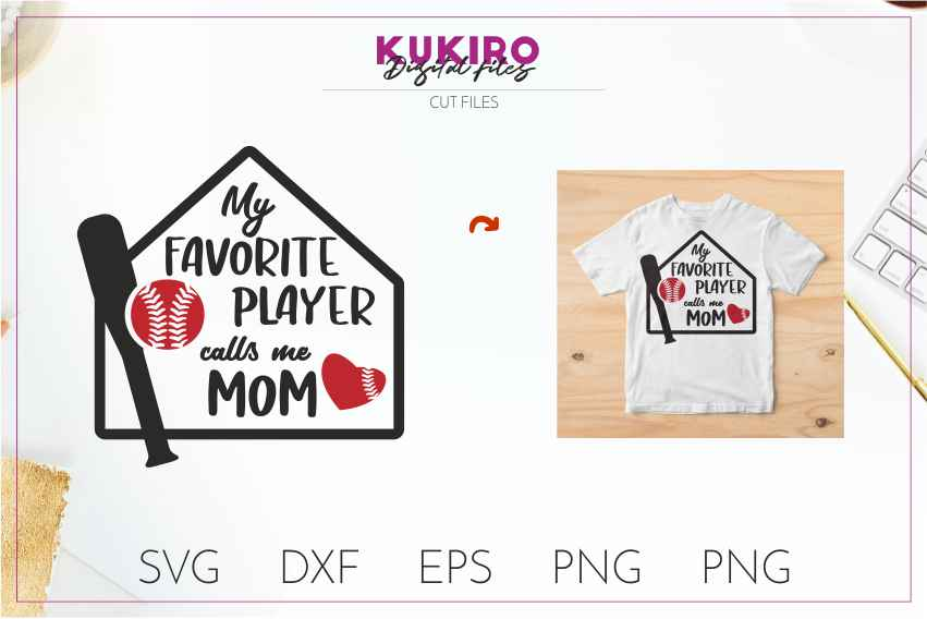 Baseball SVG BUNDLE Cut files SVG DXF EPS PNG Baseball Mom example image 11