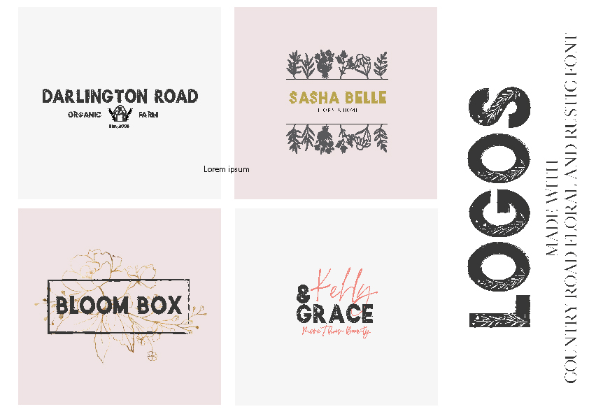 Country Road - Rustic Font example image 12