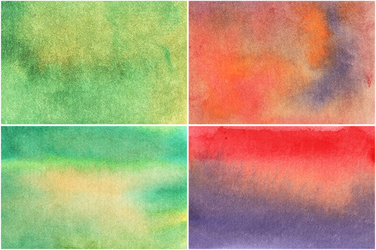 50 Watercolor Backgrounds 04 example image 10