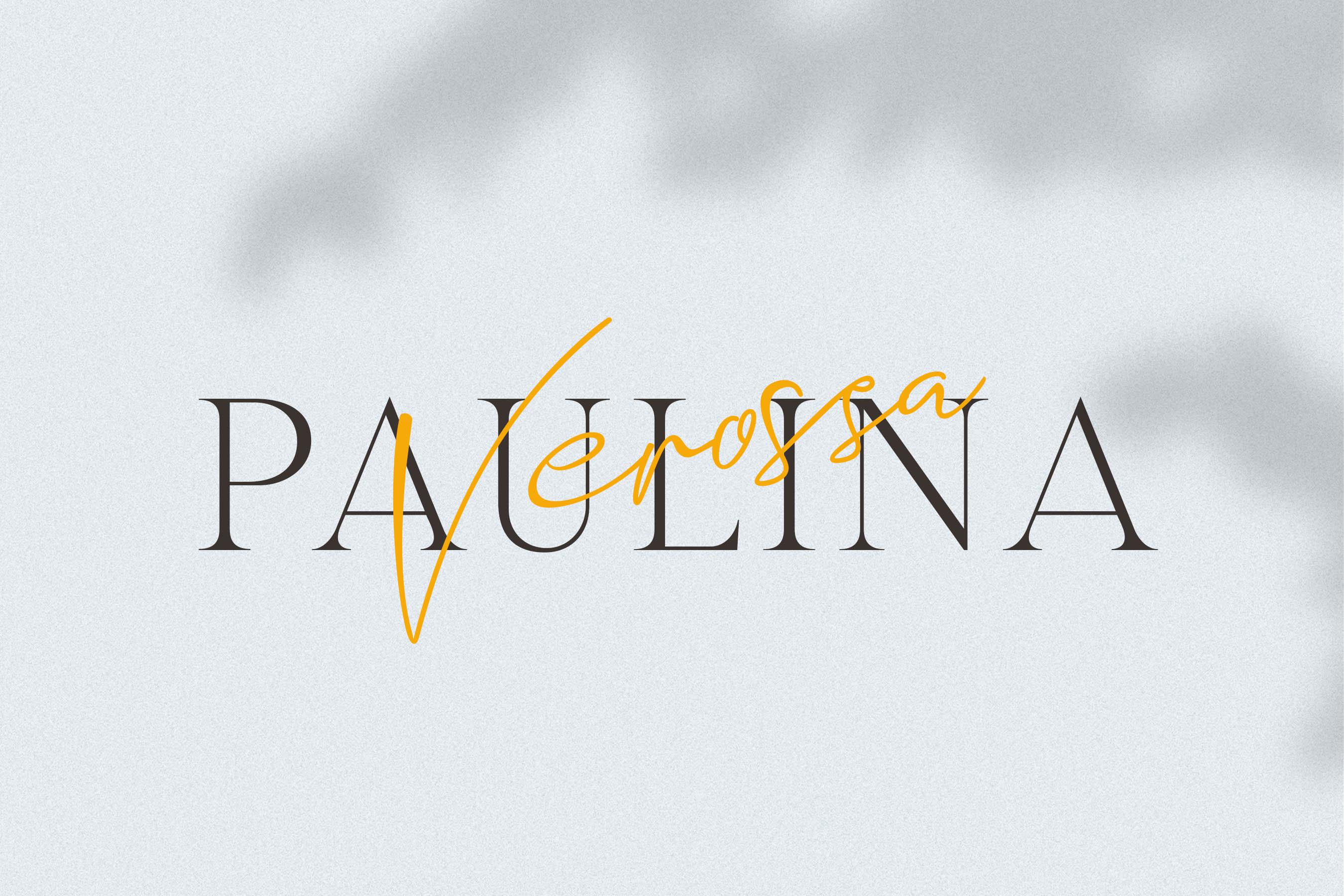 Romantic Venice Font Duo example image 7
