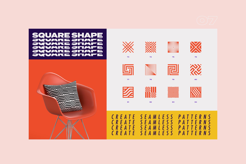 96 Geometric shapes & logo marks VOL.2 example image 20