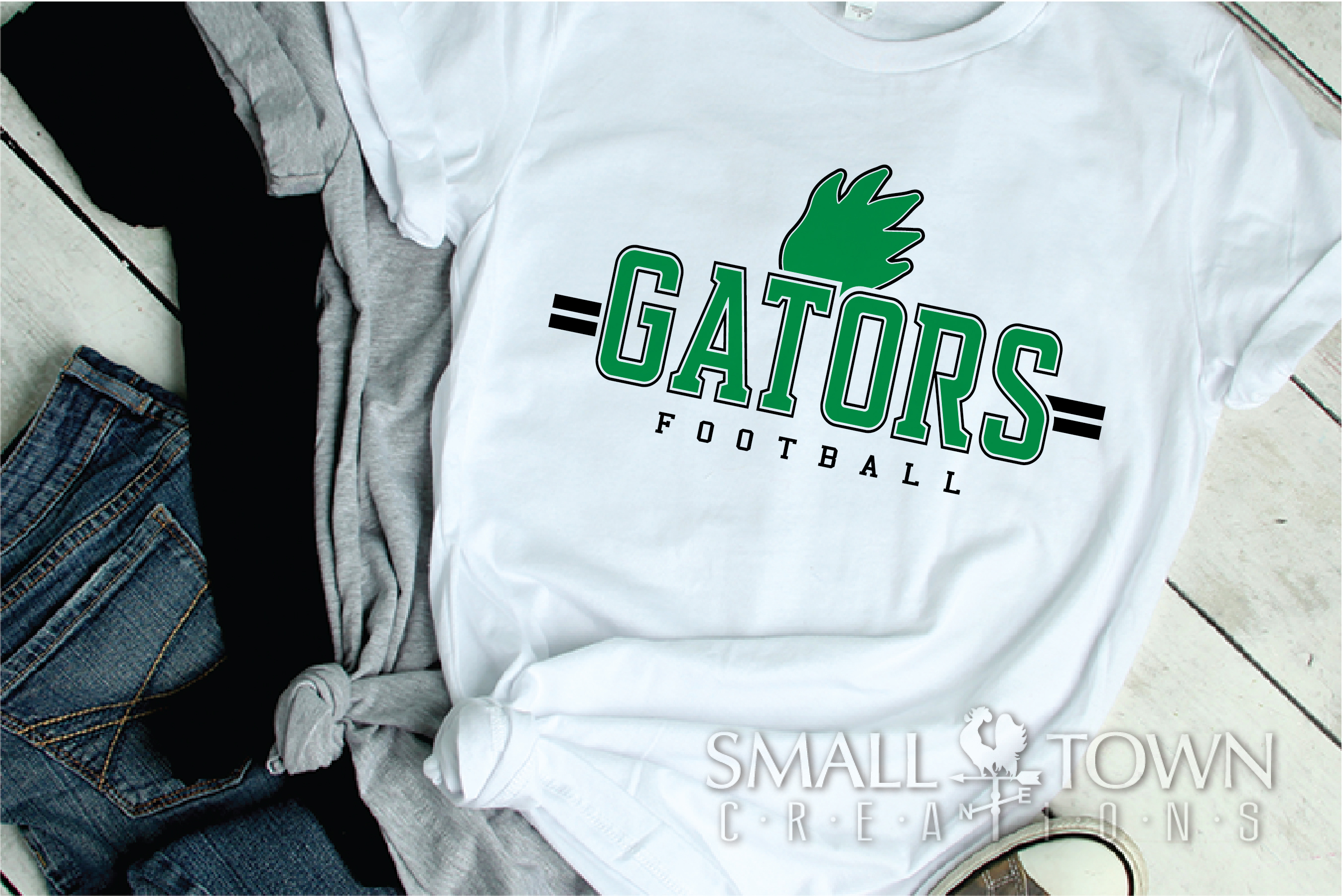 Gator Football Team, Gators Claw Print, PRINT, CUT & DESIGN example image 2