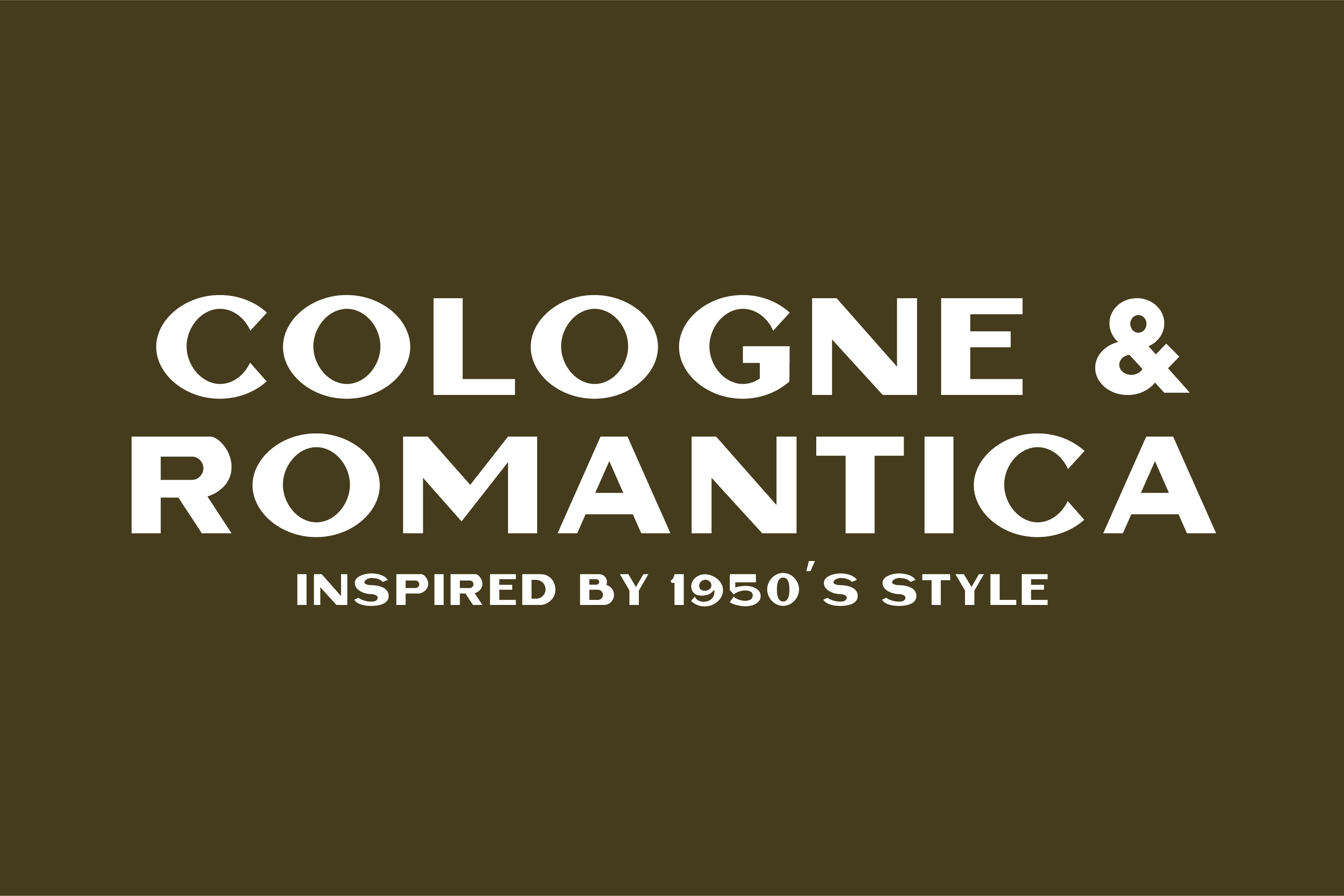 Cottage Sans - 1950's Style example image 3