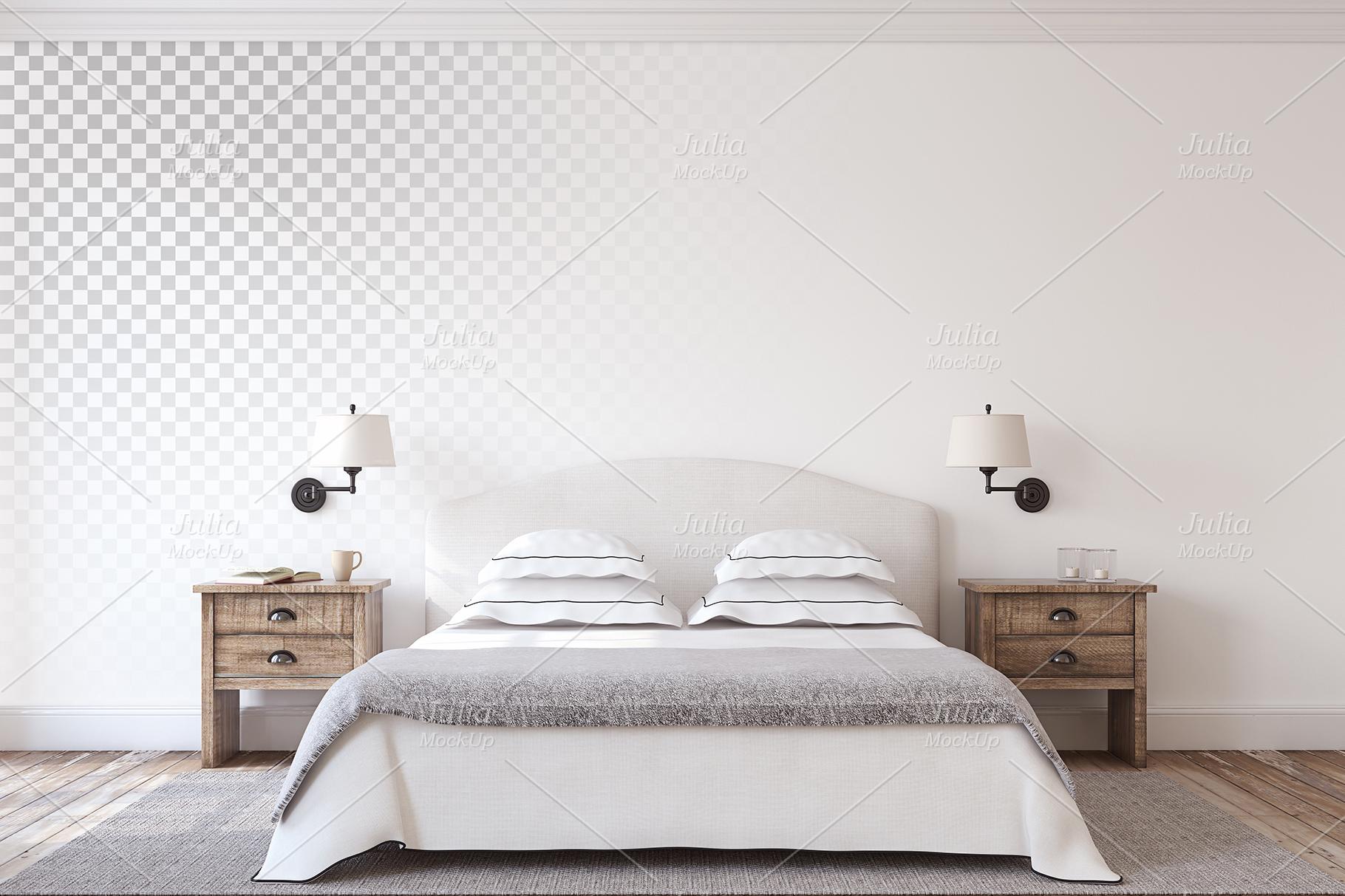 Farmhouse Style. Wall&Frames Mockup. example image 2