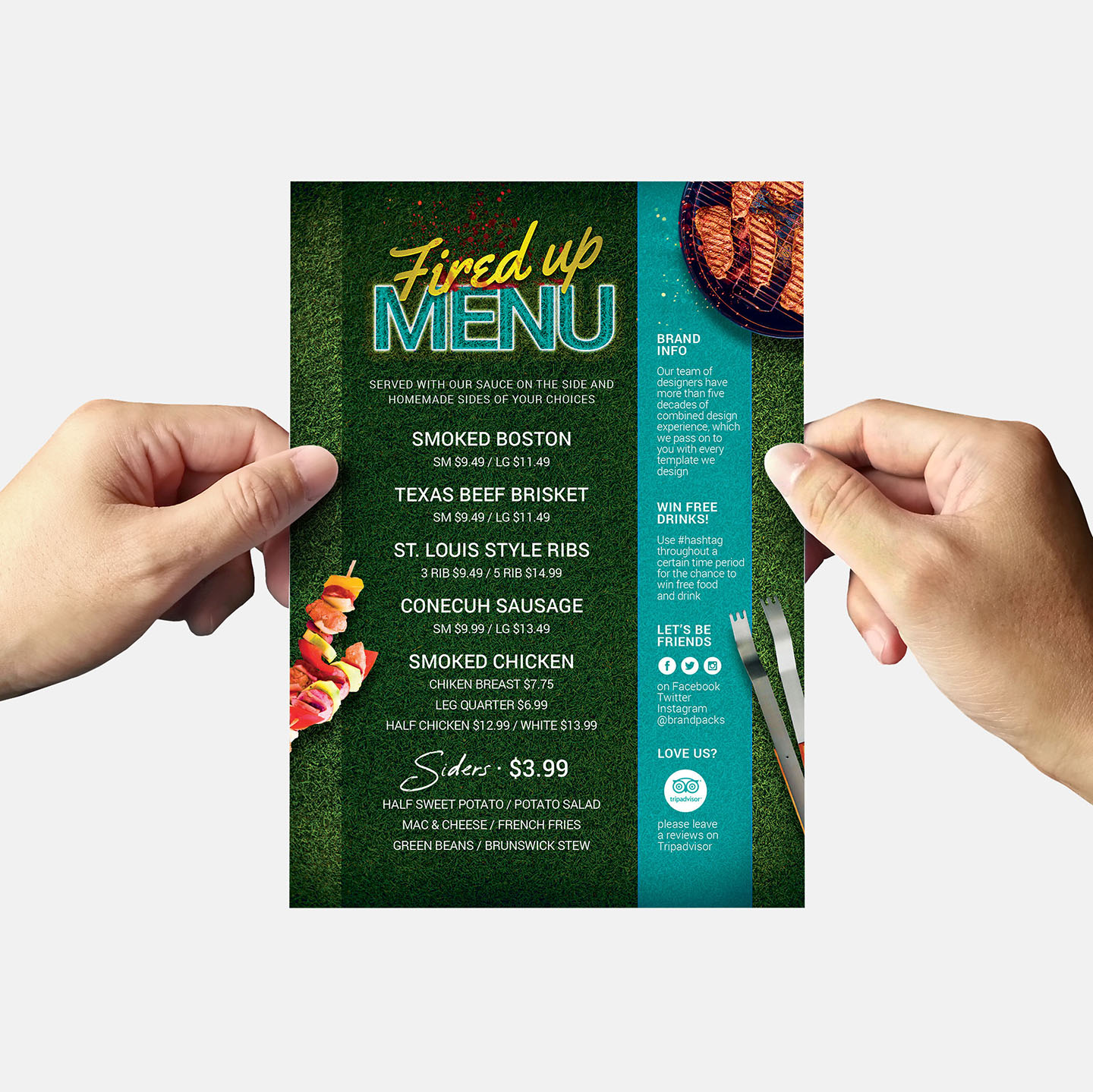 BBQ Cookout Flyer Template example image 10