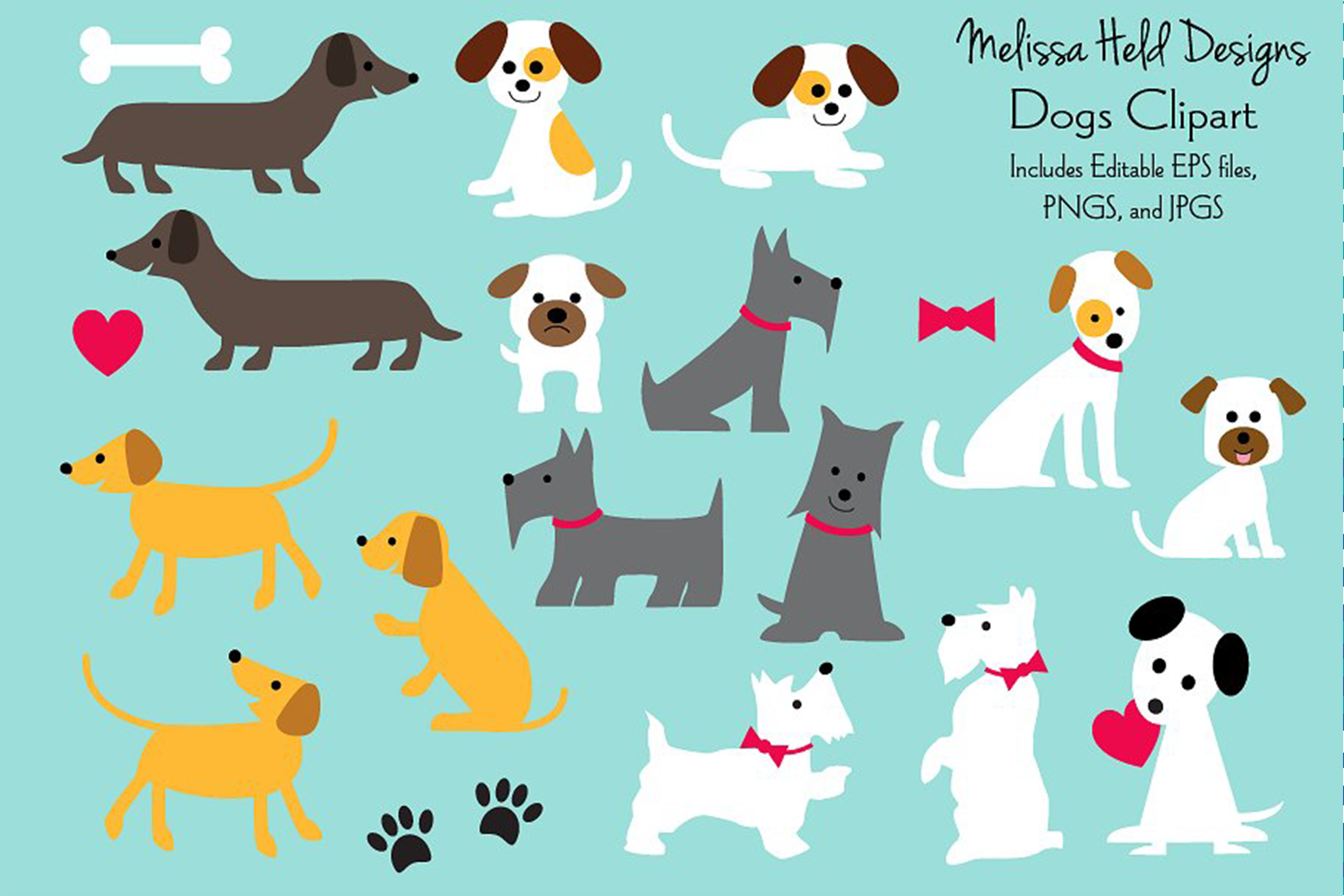 Dogs Clipart example image 1