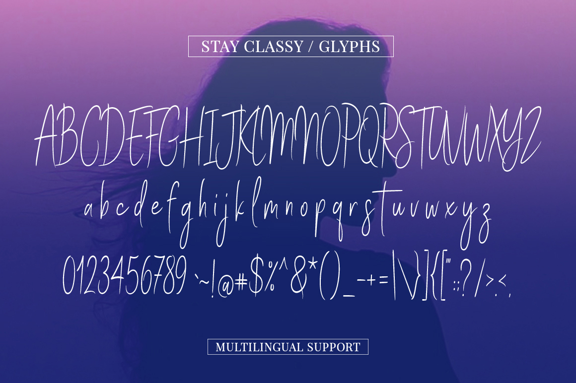 Stay Classy - Font Family example image 4