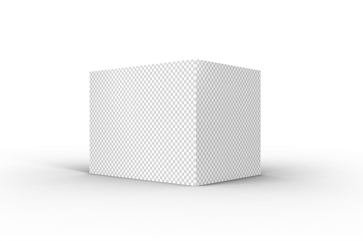 4.3.3 Simple 3D Box Mockup PSD example image 2