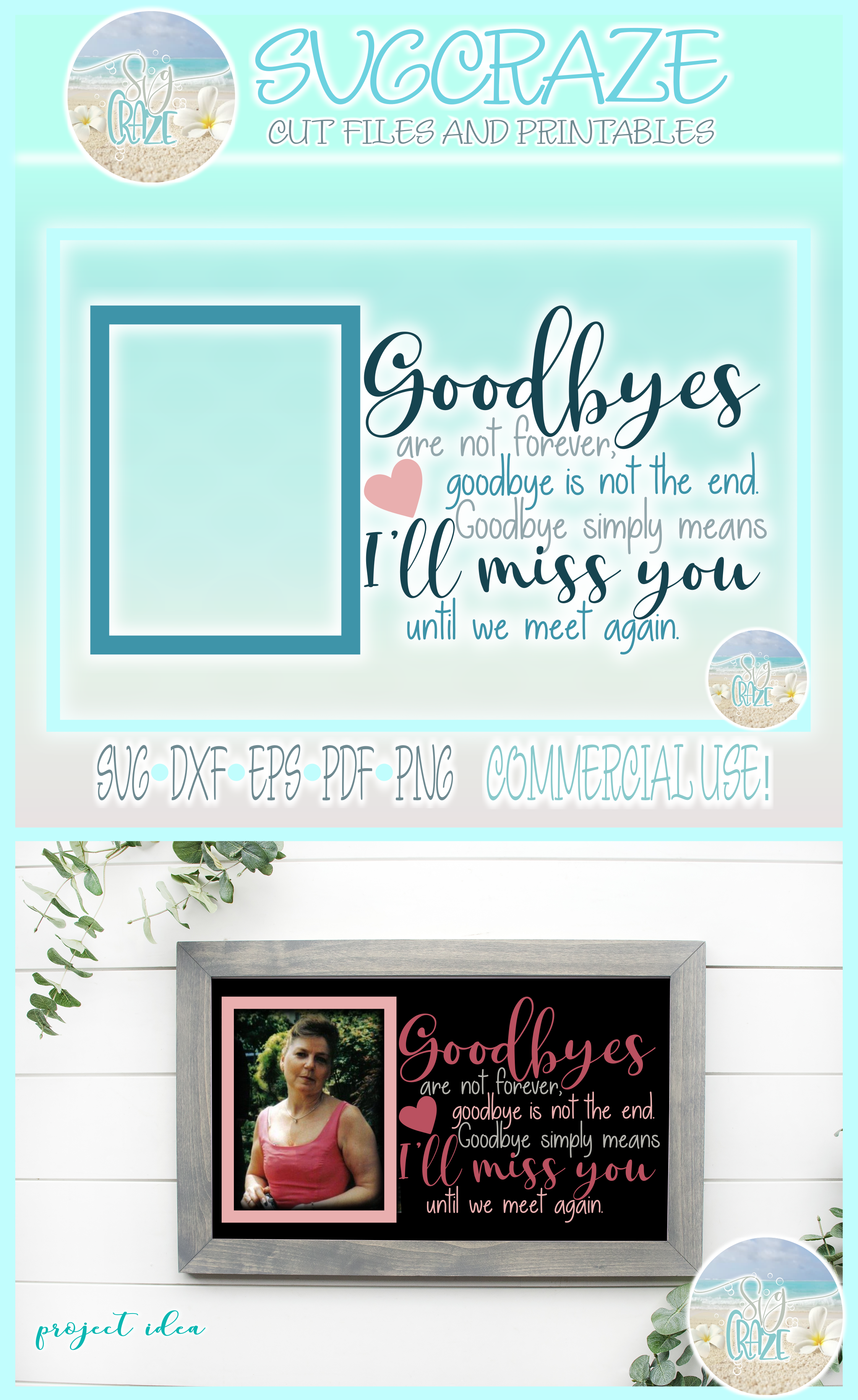 Goodbyes Are Not Forever I'll Miss You Until We Meet Again example image 4