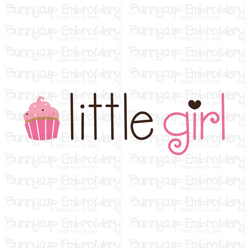 Baby Girl Sentiments- SVG, Cut Files, Clipart, Printables example image 9