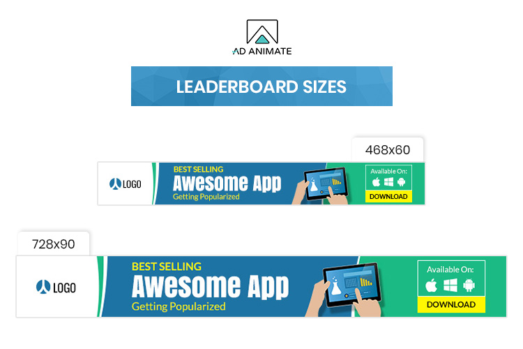 Mobile Application Animated Ad Banner Template example image 4