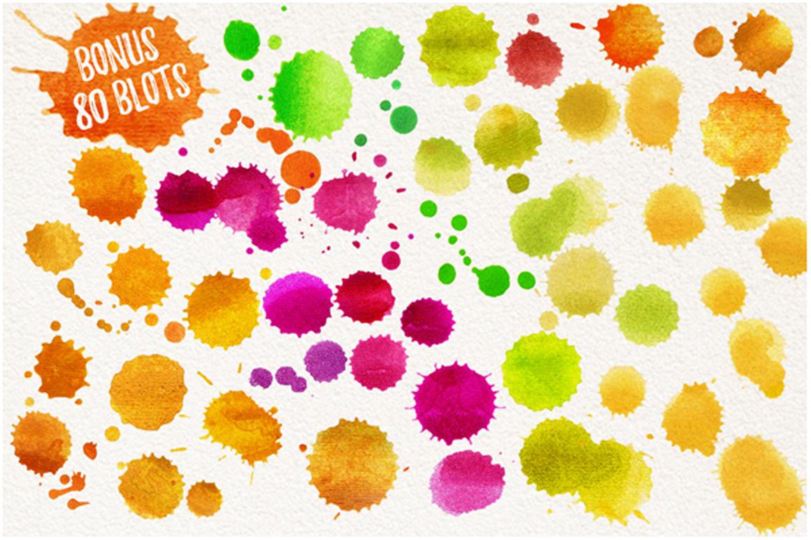 watercolor fruits vol. 6 example image 9