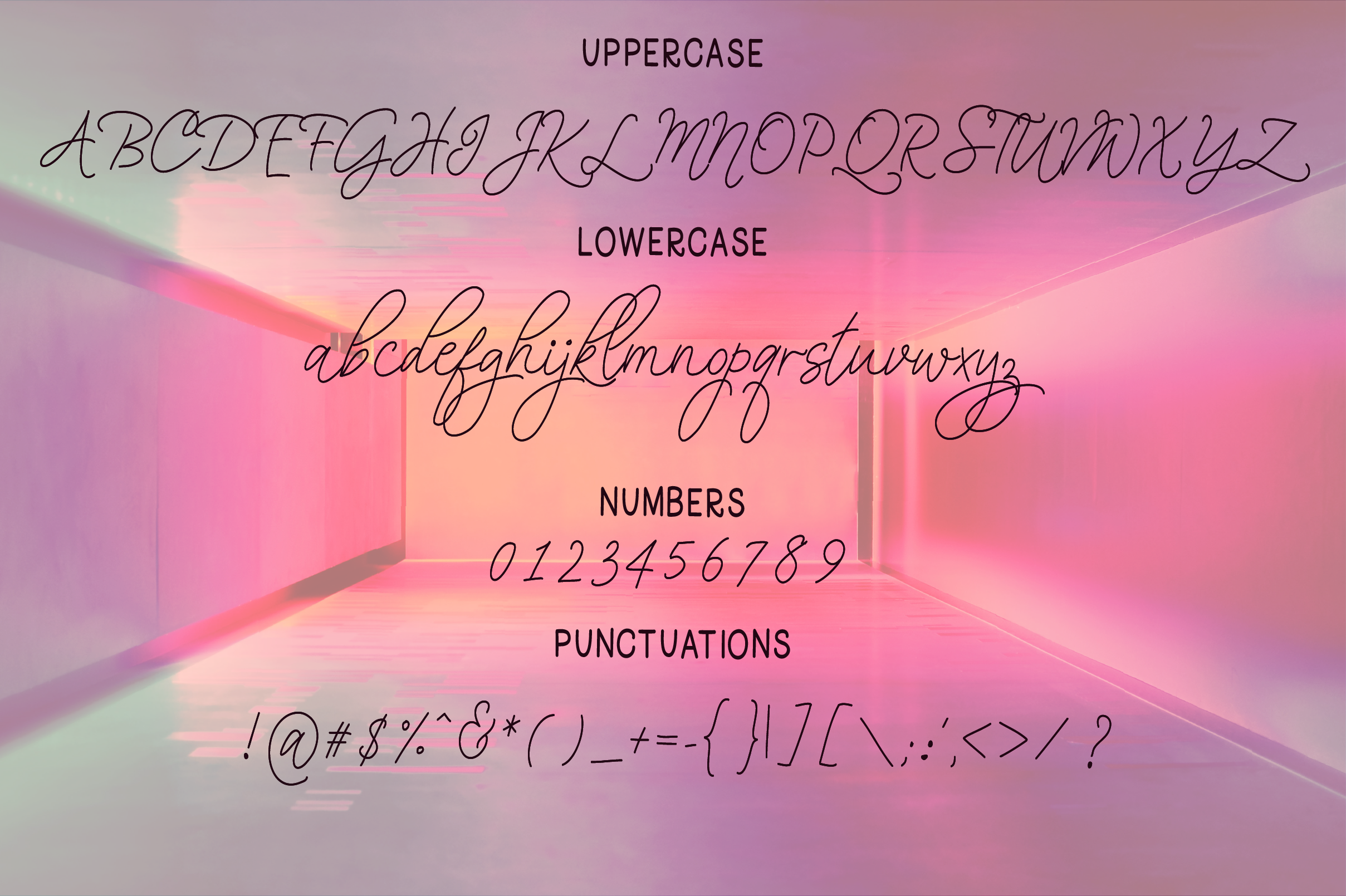 That Girl Font Duo example image 7