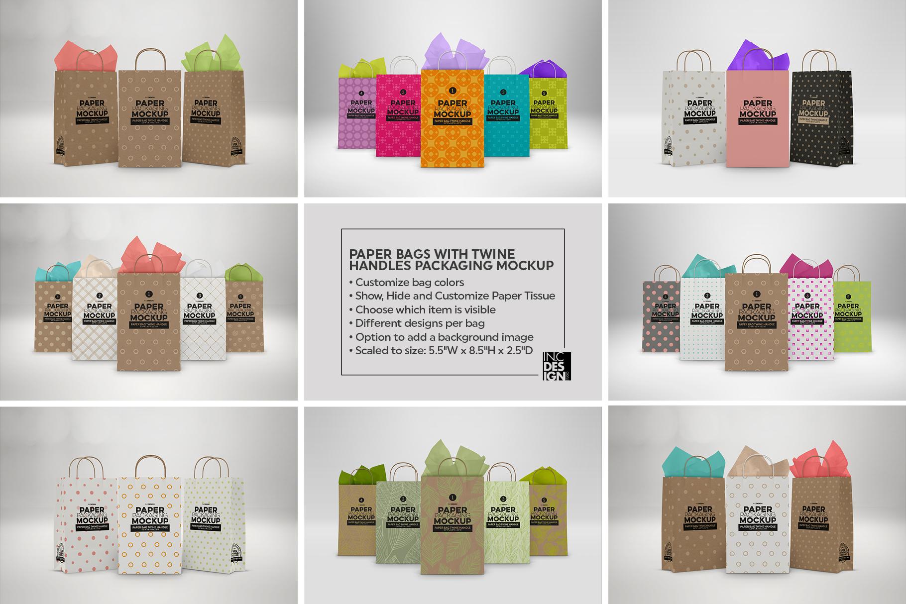 VOL. 17 Paper Box Packaging Mockups example image 6