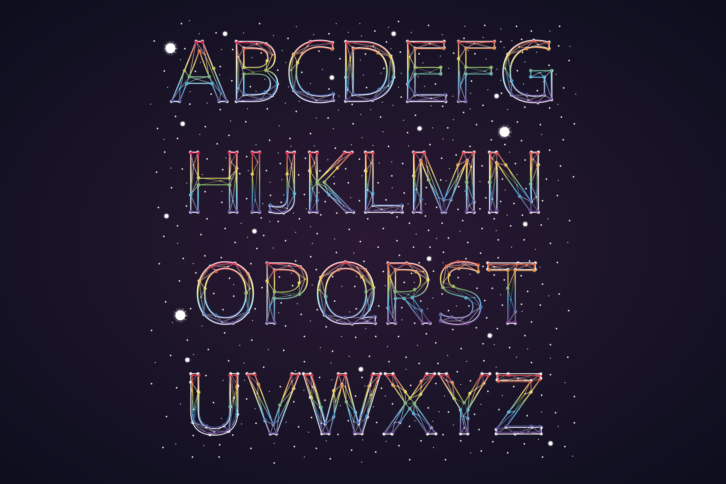 Font constellation example image 5