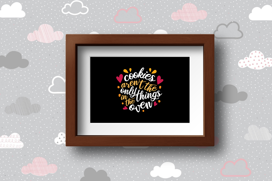 Pregnancy Announcement SVG Cut Files - Cookies example image 2
