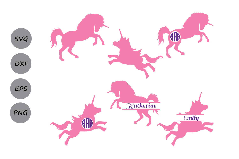 Unicorn Svg files, unicorn monogram svg, Unicorn Silhouette svg, unicorn  clipart, unicorn cutting file, Cricut files, svg, dxf, eps, png