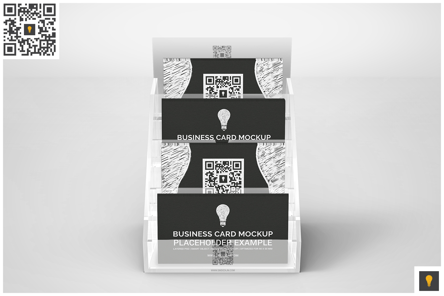 Business Card Holder Mockup example image 4