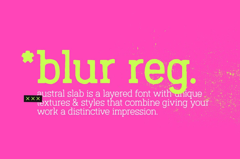Austral Slab Blur example image 5
