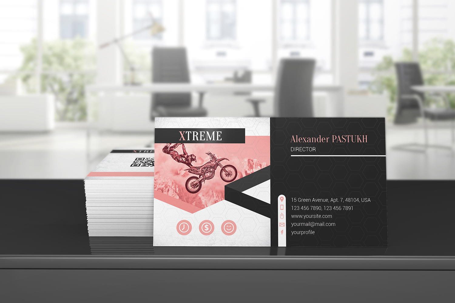 Business Card Mockups example image 11