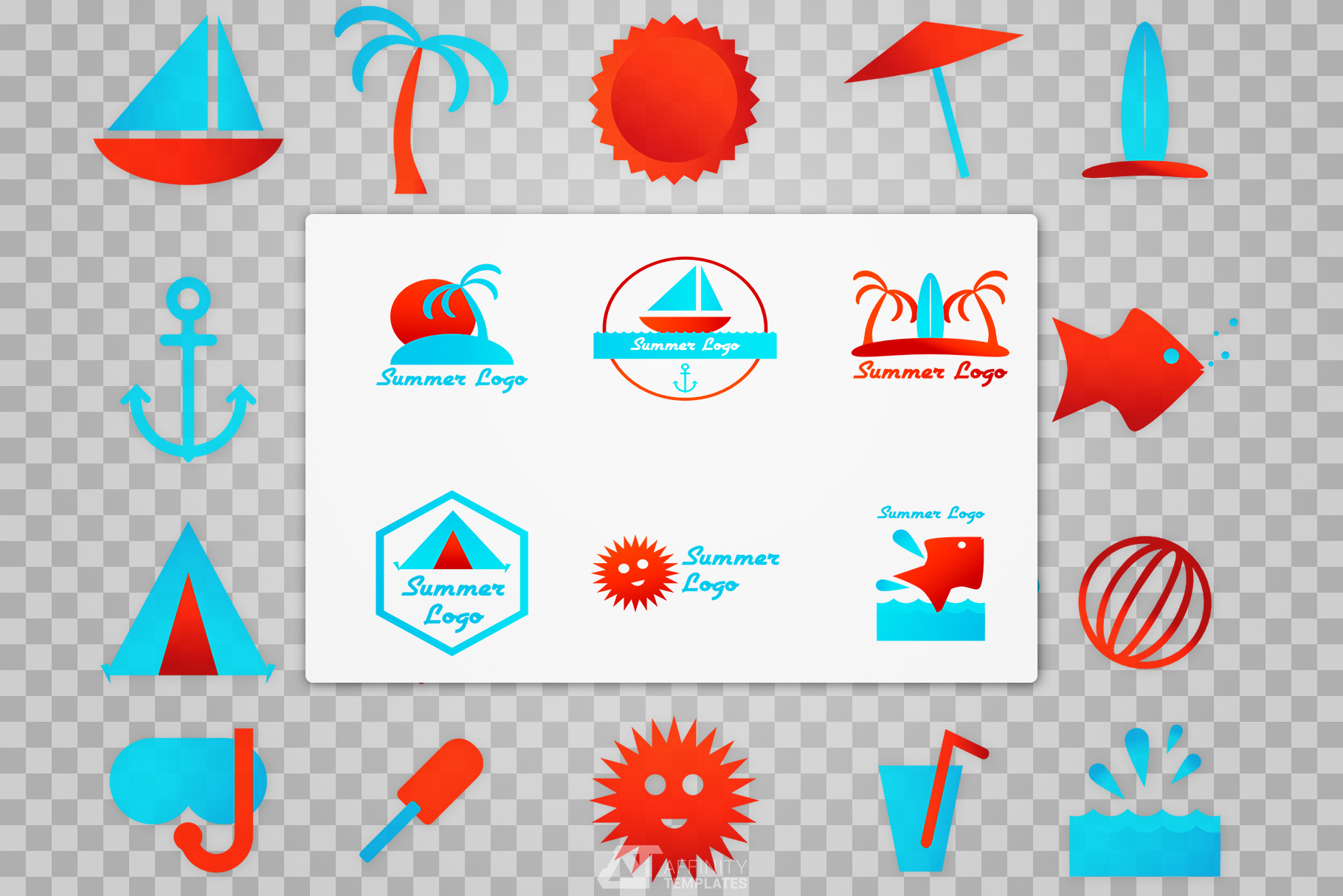 Summer Camp Logo Download example image 3