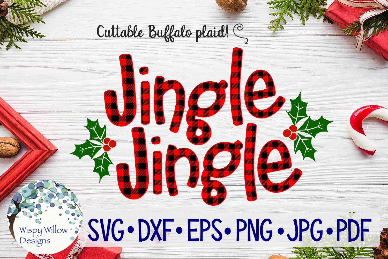 Buffalo Plaid Christmas Bundle SVG Cut Files example image 8