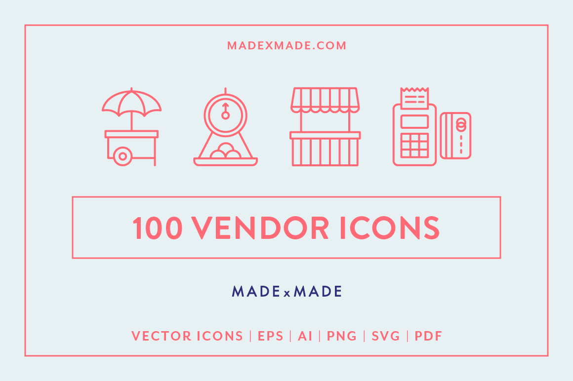 Line Icons  Vendor example image 1