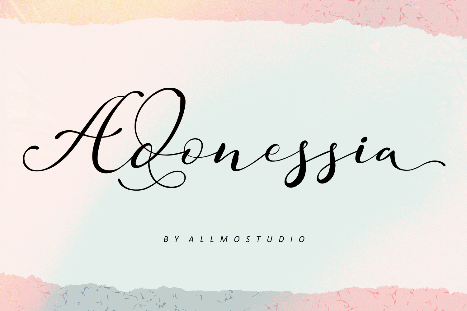 Adonessia Font example image 2