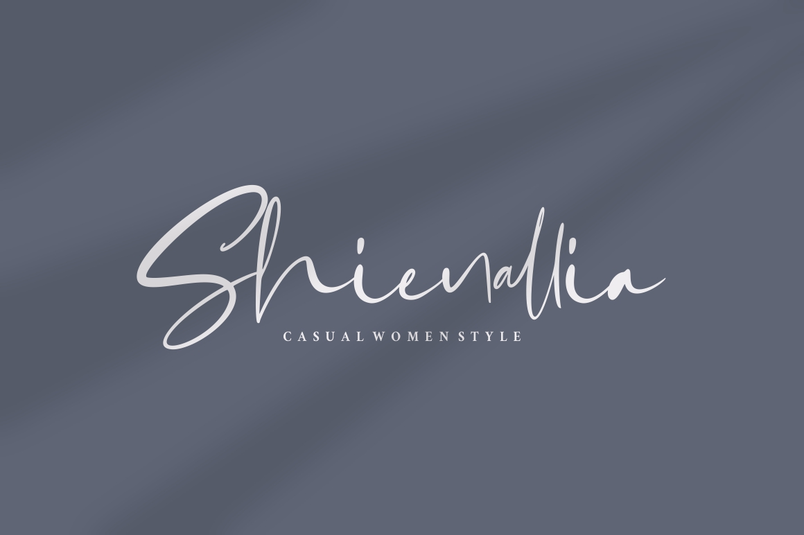 Gabrialle - Casual Script Font example image 8