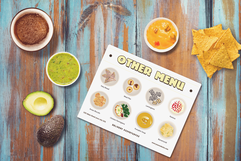 Australian Cuisine Food Seamless Pattern Bundle example image 9