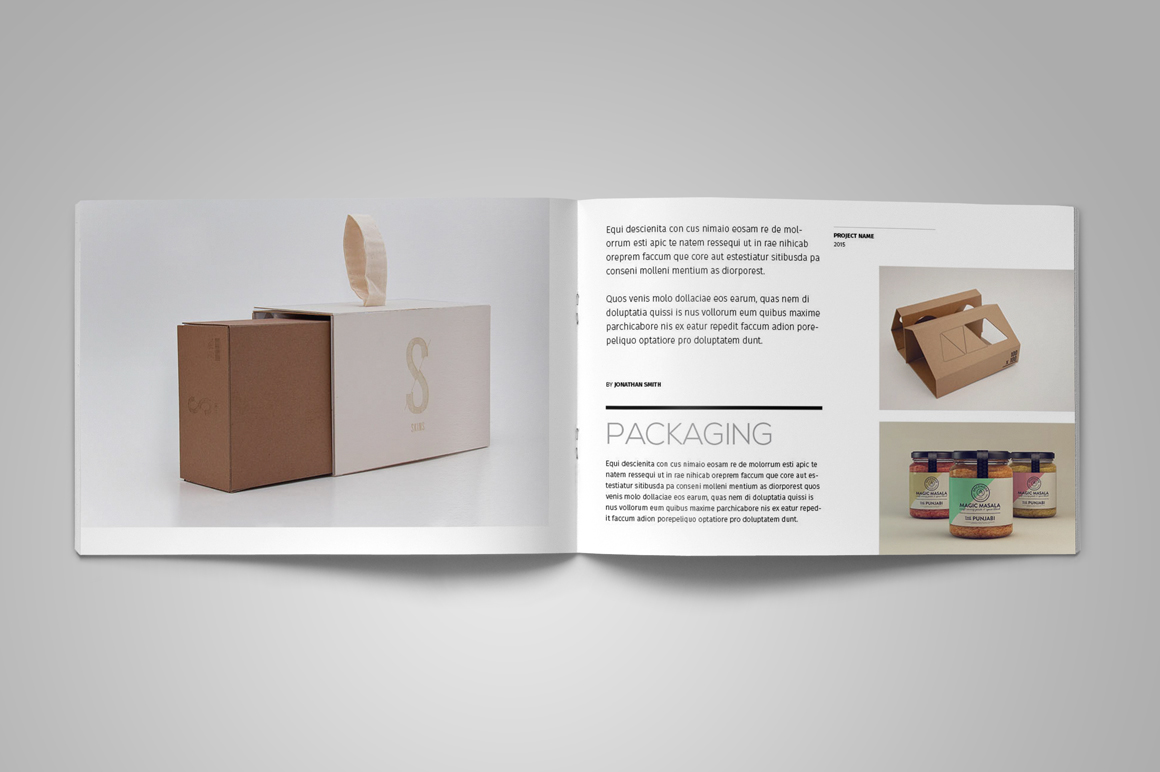 Portfolio Brochure Template example image 6