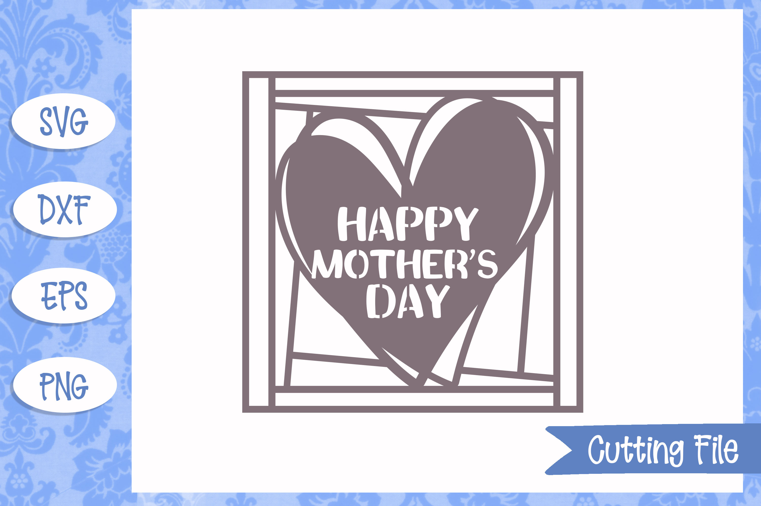Happy Mother's Day SVG File example image 1