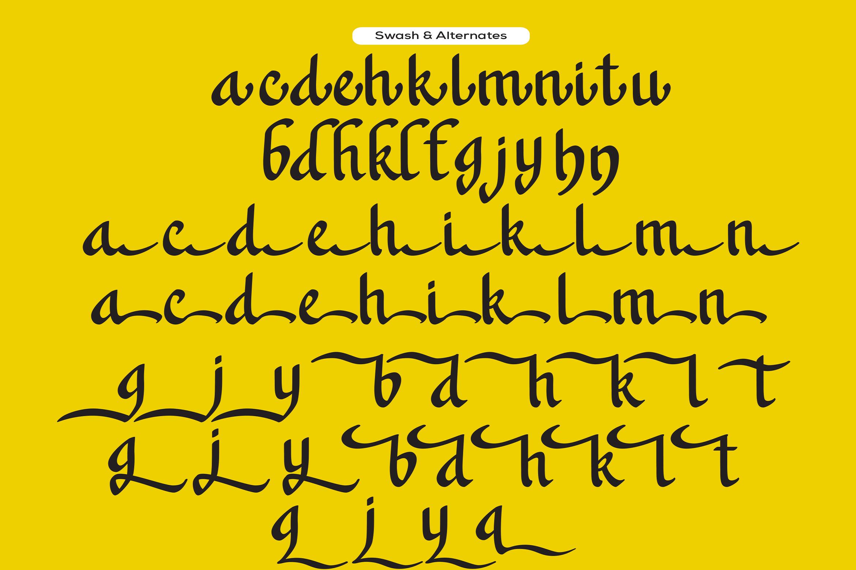 Khanaya - Serif Script Font example image 10
