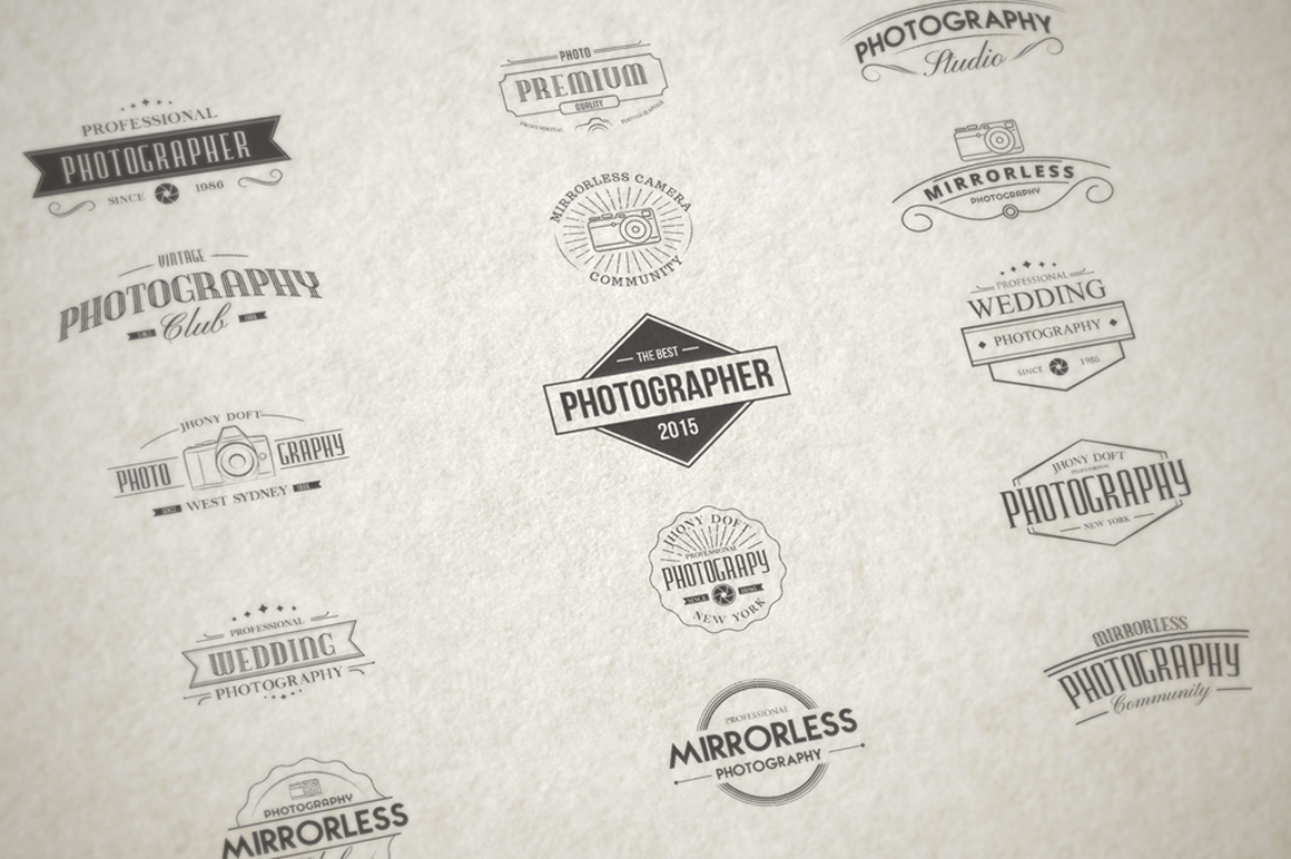 Vintage Badges for Photography example image 5