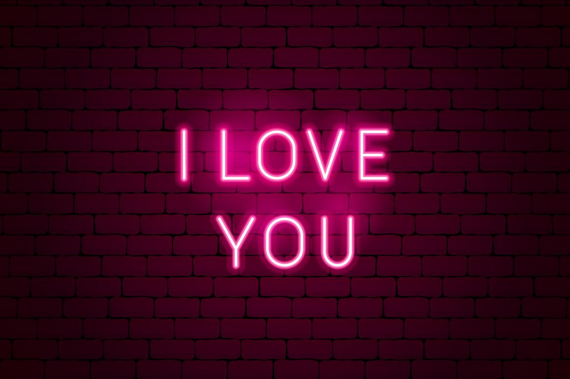 Valentine's Day Neon example image 8