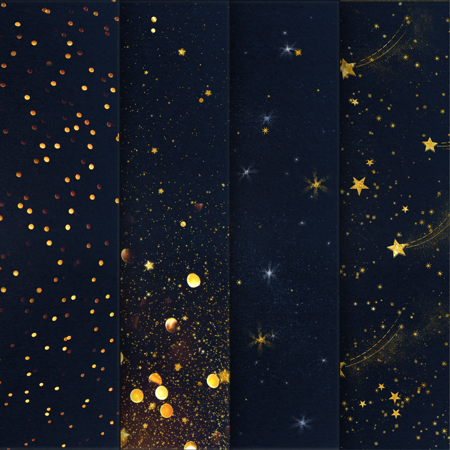 Starry Night Backgrounds example image 4
